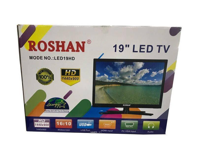 "Roshan 19"" Energy Saving 1440 x 900 HD 1 USB Port Audio LED TV"
