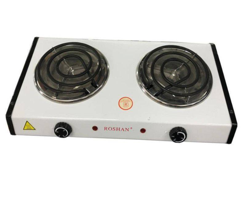 Roshan Electric 2 Burner Cook Top Table Top Hot Plate