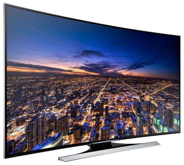 Samsung 55-Inch 4K Ultra HD Smart LED  TV- Grey