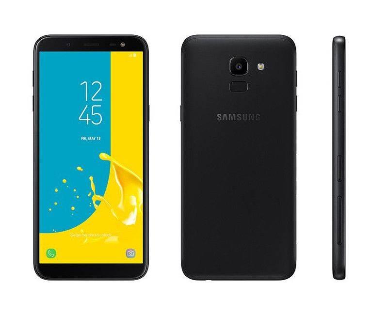 Samsung Galaxy J6 Duos Unlocked Smartphone Black