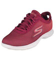 Skechers Go Step Prismatic Burgundy Pink 14347 Sneakers