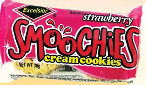 Smoochies Cream Strawberry 36G