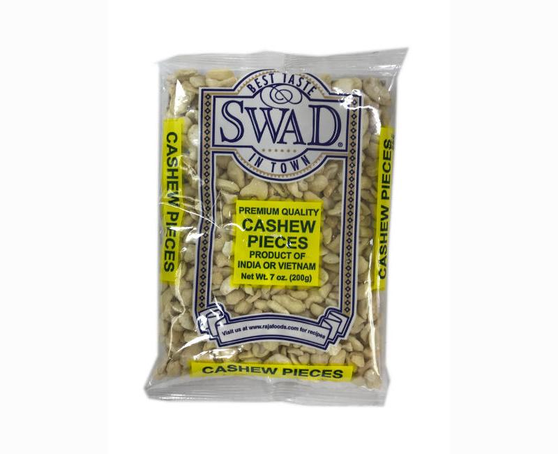 Swad Premium Quality Cashew Pieces 200g