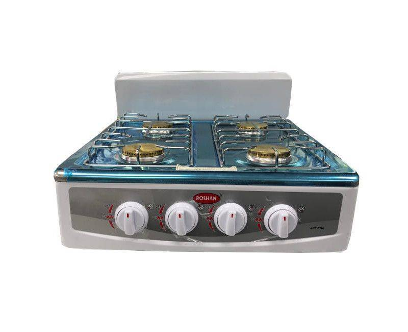 Roshan 4 Burner Table Top Gas Stove Cooktop
