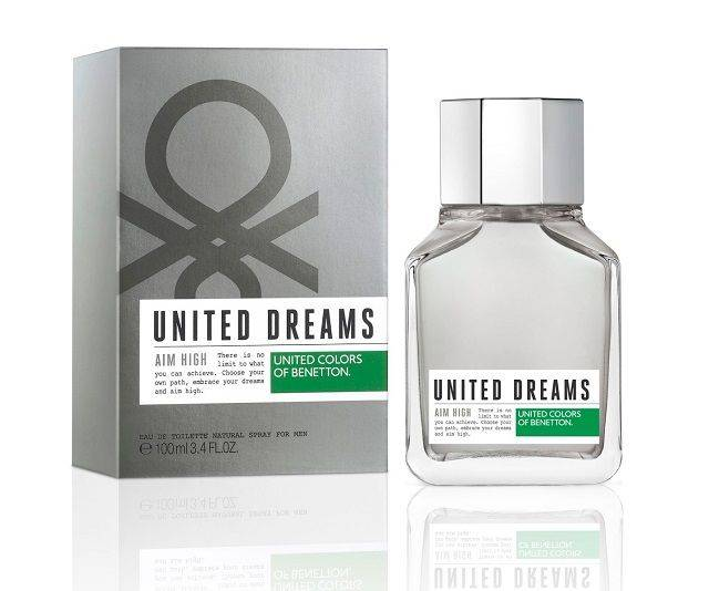 United Dreams AIM HIGH 3.4 Fl. OZ. Men's Perfume