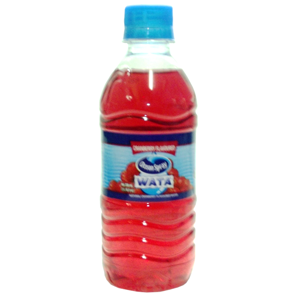WATA Red Cranberry Flavoured Water 330ml
