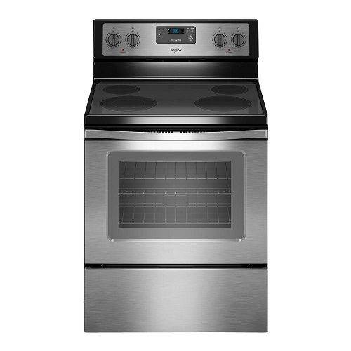 Whirlpool 30' Electric Stove Ceramic Top Clean