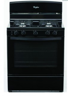 """Whirlpool 30"""" Free Standing Gas Stove"""