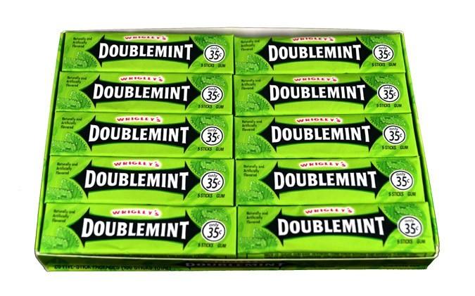 Wrigley's Doublemint  Gum 40 Pack