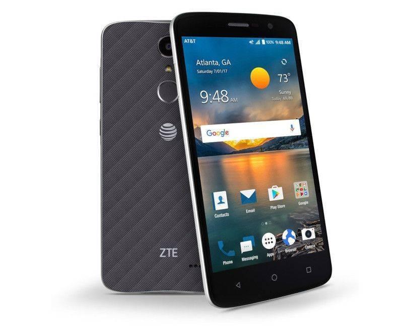 """ZTE Blade Spark 5.5"""" Unlocked Smartphone"""