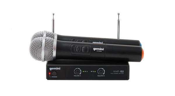 Gemini VHF-02 Microphone System