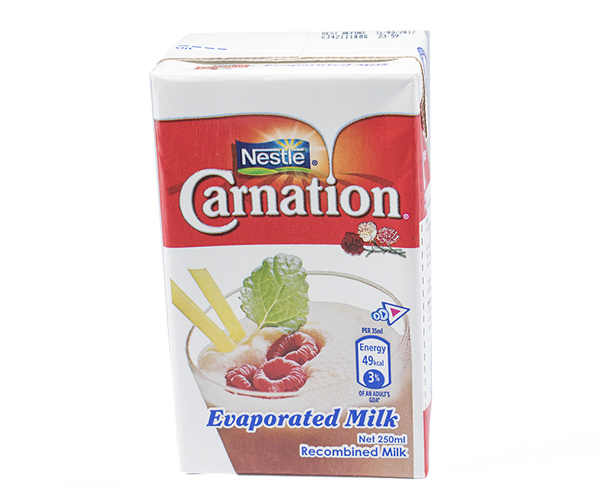 CARNATION Full Cream Evaporated Milk 250ml Carton
