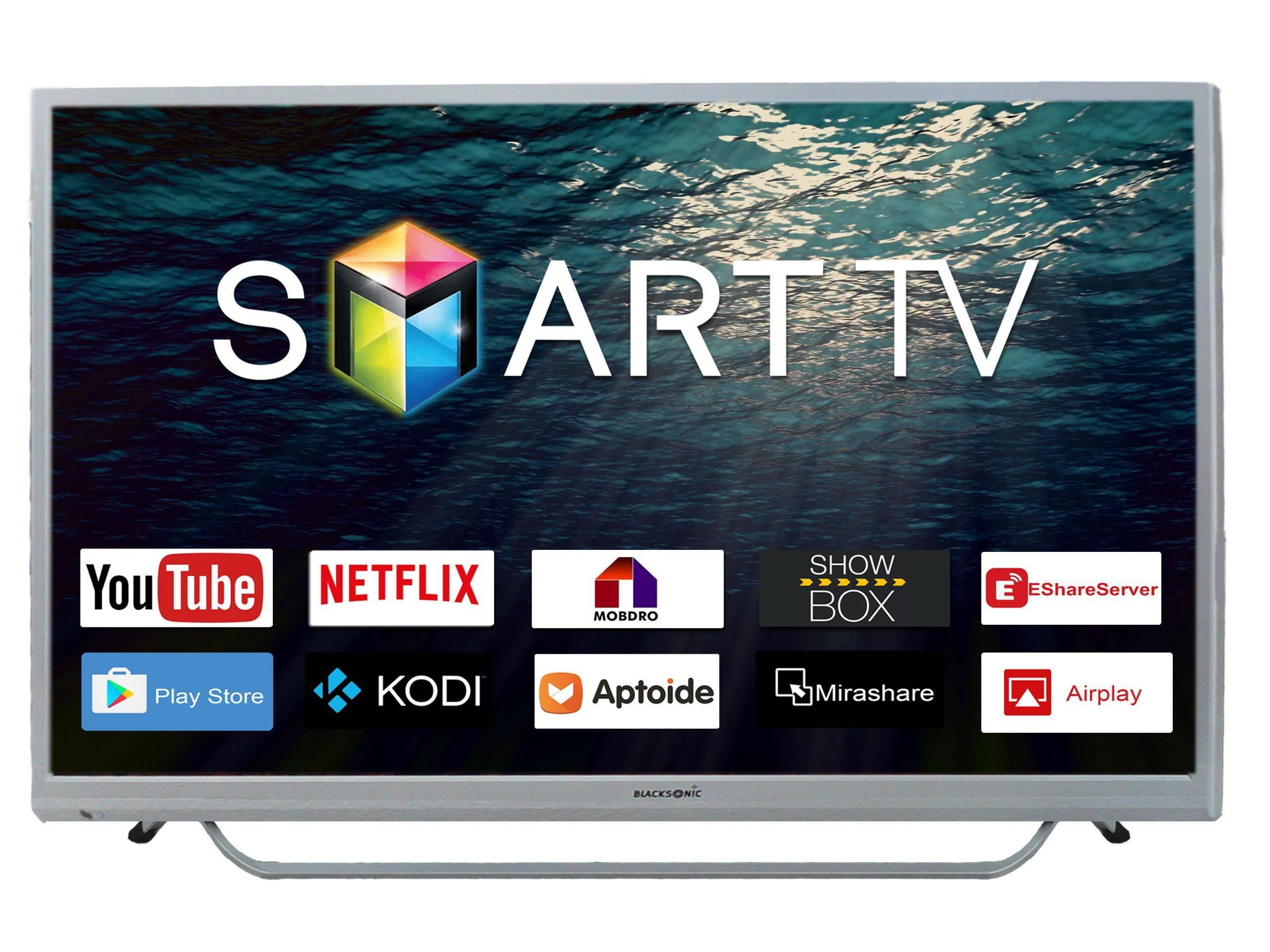 Blacksonic ULTRA HD 49-Inch Smart Tv Dual Speed-Panasonic Chrome Series