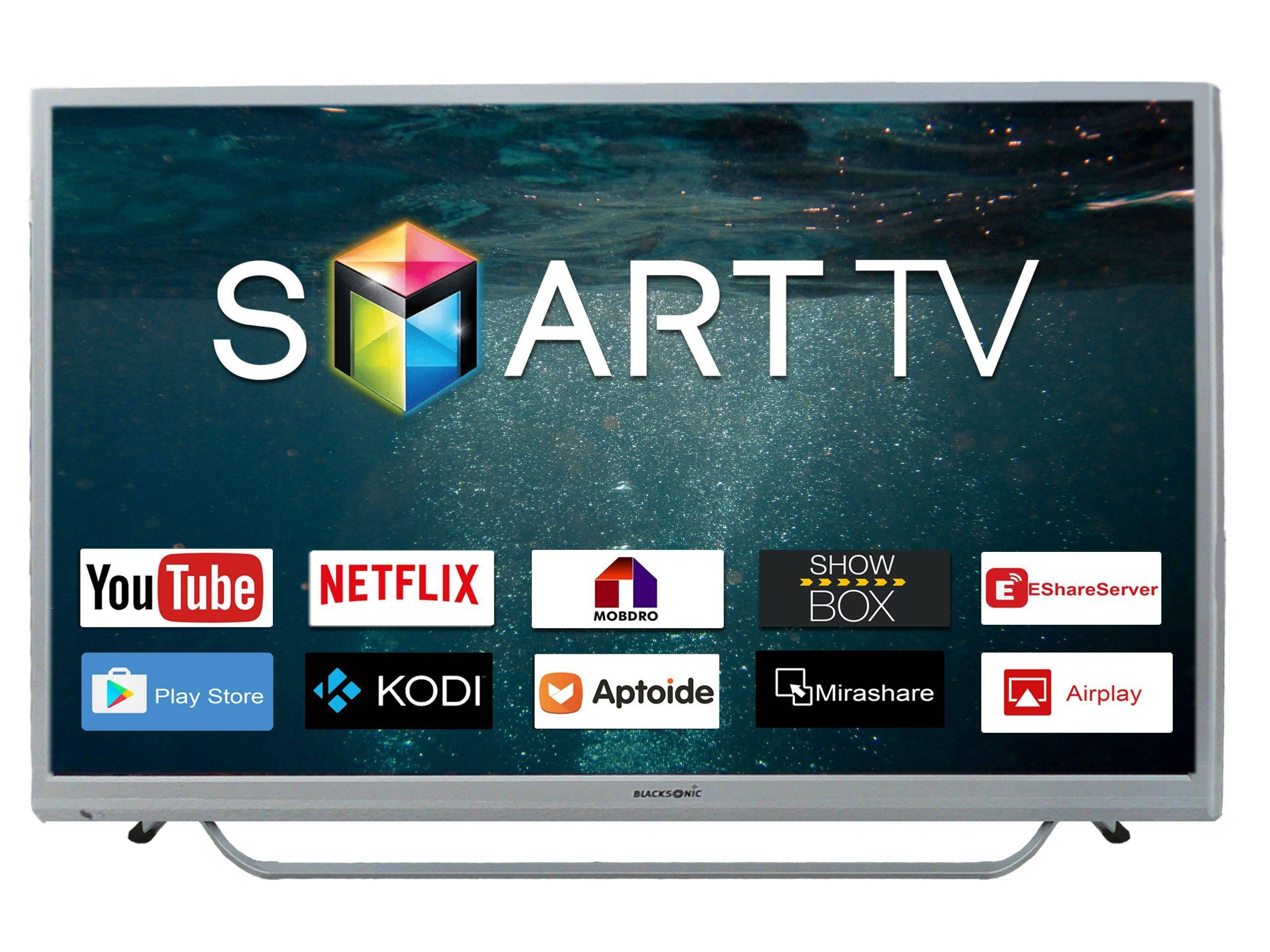 Blacksonic ULTRA HD 60-Inch  Smart Tv Dual Speed Panasonic Chrome Series