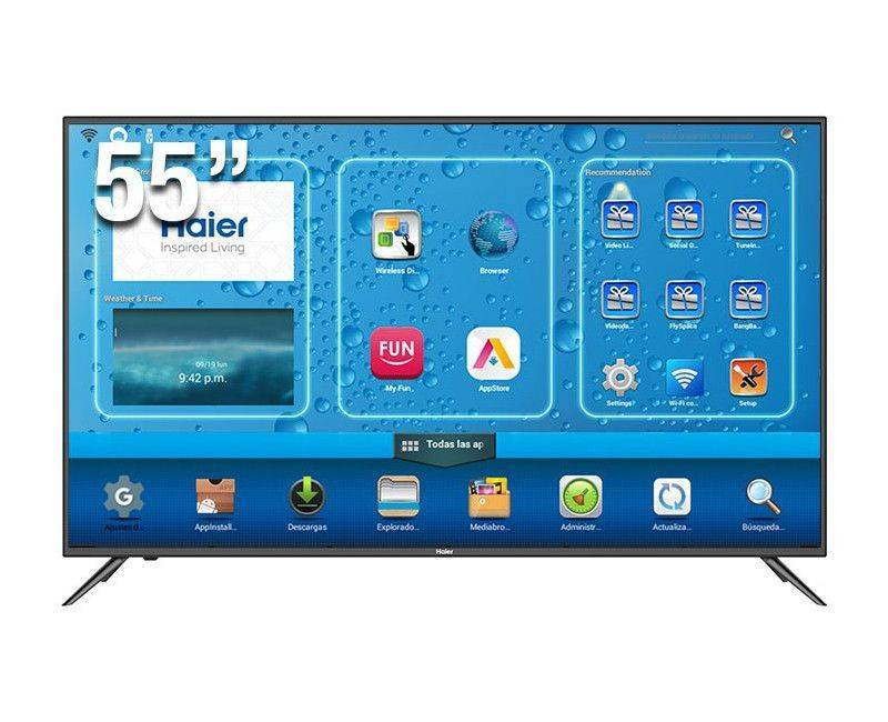 """The Haier 55"""" 4K UHD Smart LED TV"""