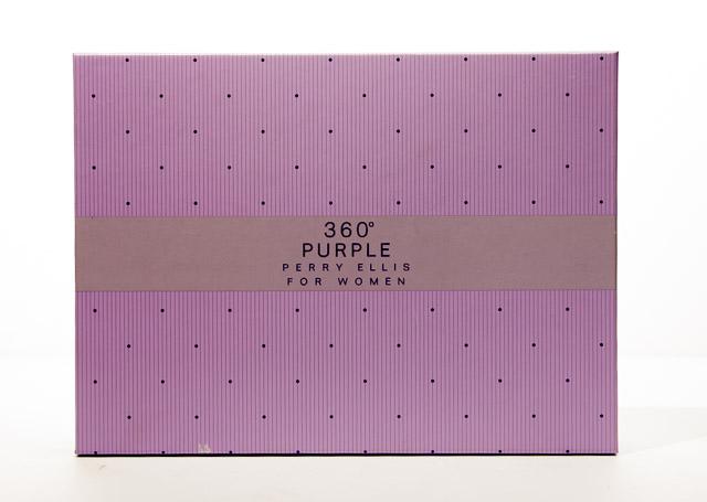360 Degree Purple Perry Ellis For Women Perfume Set
