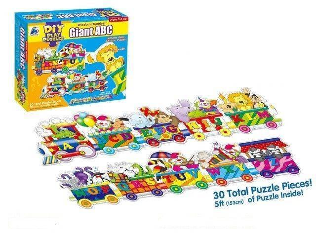 Giant ABC Puzzles