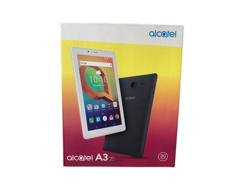Alcatel A3 Android OS 7 Inch 1.3GHz 3G Tablet Phone in package