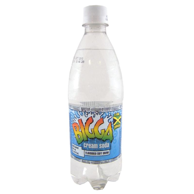 Bigga Soft Drink Cream Soda 600ml