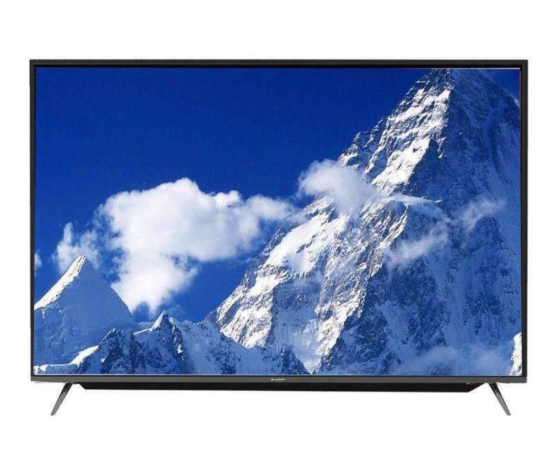 "Blackpoint 55"" Smart HD Tv with Soundbar 2 Remotes and Magic Remote"