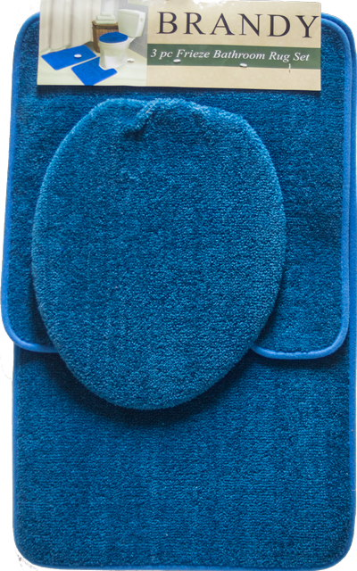 Brandy  3 Piece  Bath Mat Set