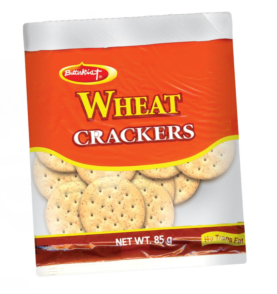 Butterkist Whole Wheat Crackers 113g