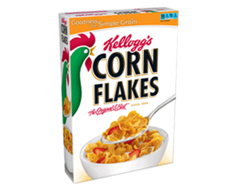 Kelloggs Corn Flakes Cereal 430 Grams