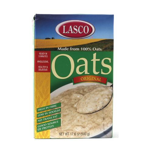Lasco Oats Porridge Cereal 500 Grams