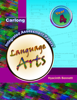 Carlong Integrated Assessment Papers Book 4 - Language Arts