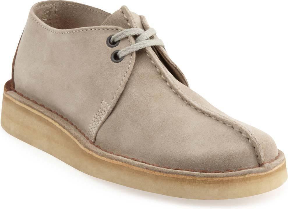 Clarks Desert Trek Sand Suede Lace-up Shoe for Men-11.5