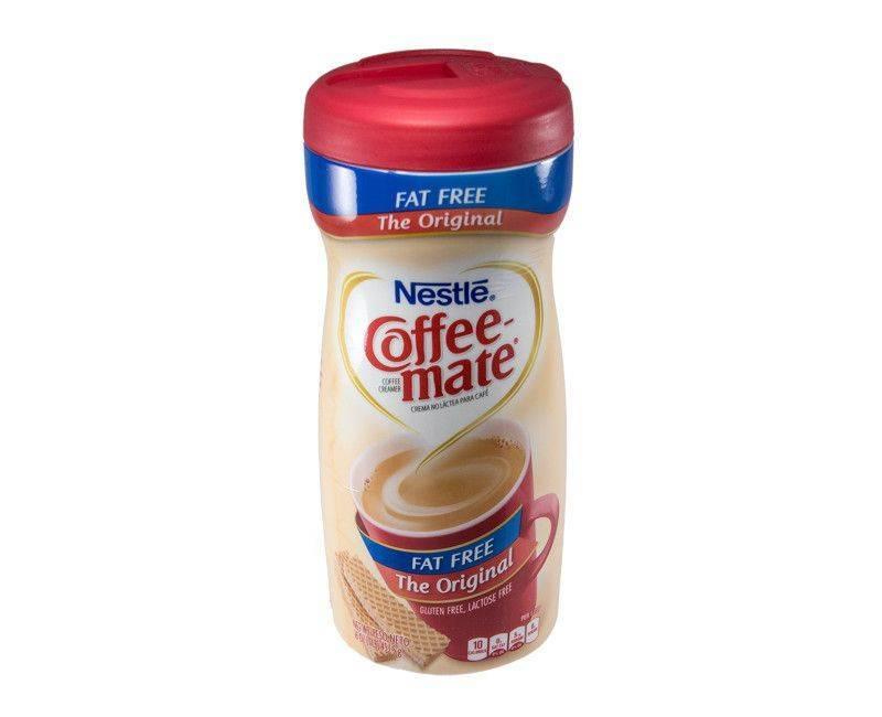 COFFEE MATE Original Fat Free Powder Creamer 453.5g Bottle
