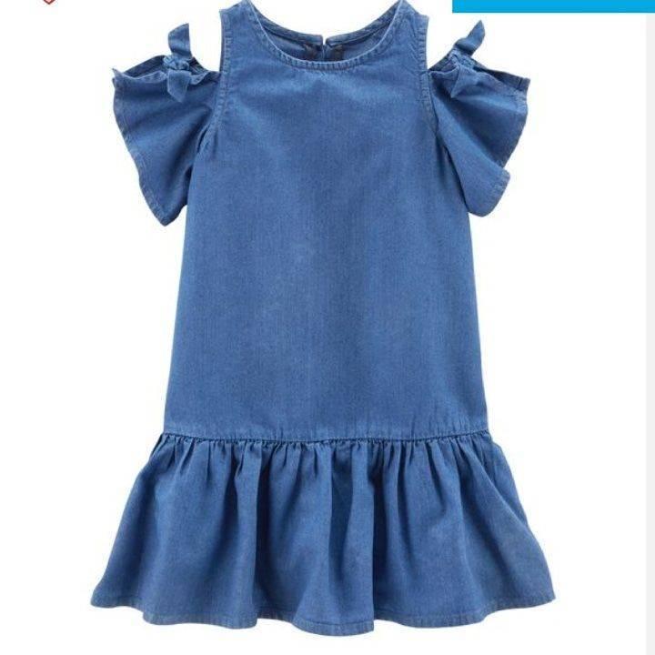 Girl Cold Shoulder Dress
