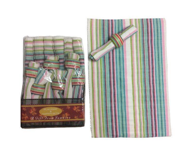 Cotton Handloom 6 Piece Placemat Set