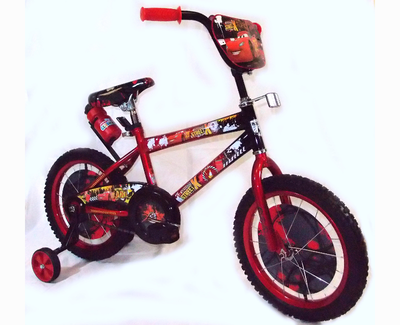 Disney's Cars 3 Black And Red 16 Inch Bicycle