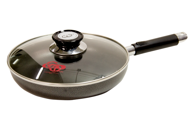 "Eware 9"" Frying Pan with cover"