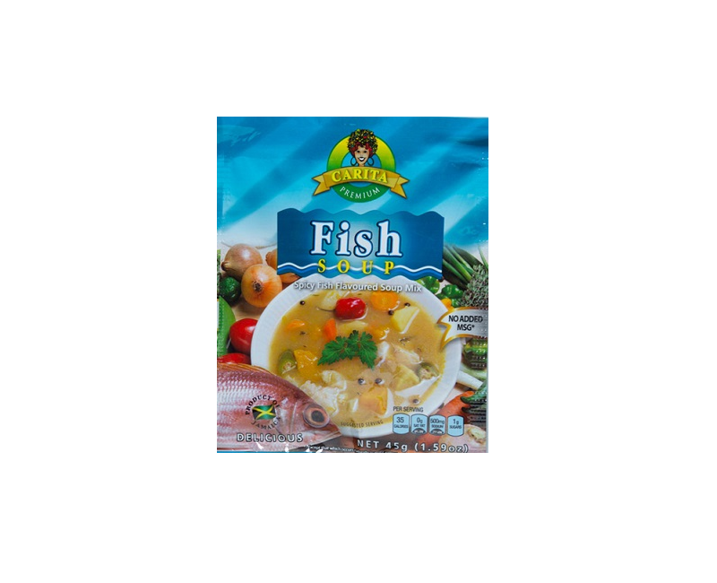 Carita Fish Soup (MSG FREE)