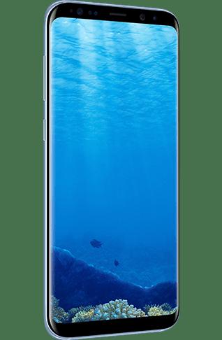 Samsung Galaxy S8 Smartphone 64GB Black Side
