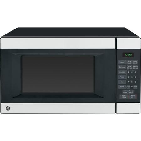 GE 1.4 Cubic Stainless Steel Microwave