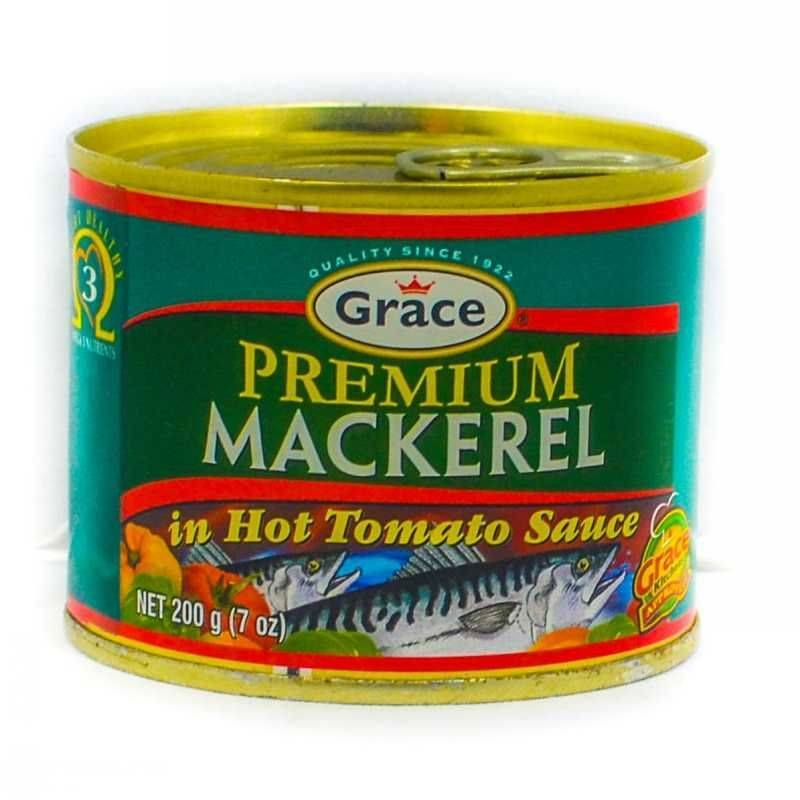 Grace Premium  Mackerel in Hot Sauce 200G