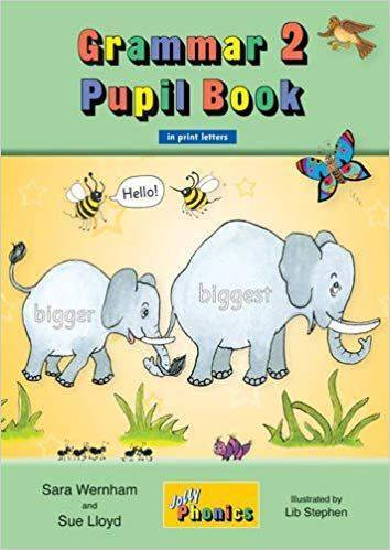 Jolly Grammar Pupil Bk 2 in print letters