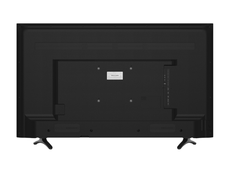"Back view of the HISENSE ROKU Smart TV 50"" 4K  R7 Series"