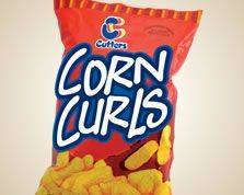 Holiday Corn Curls 8x55g