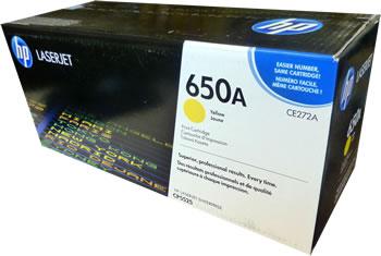 HP 650A Yellow Original