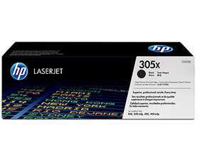 HP CE410X 305X Black LaserJet Toner Cartridge