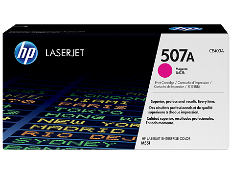 HP 507A Magenta Original LaserJet Toner Cartridge