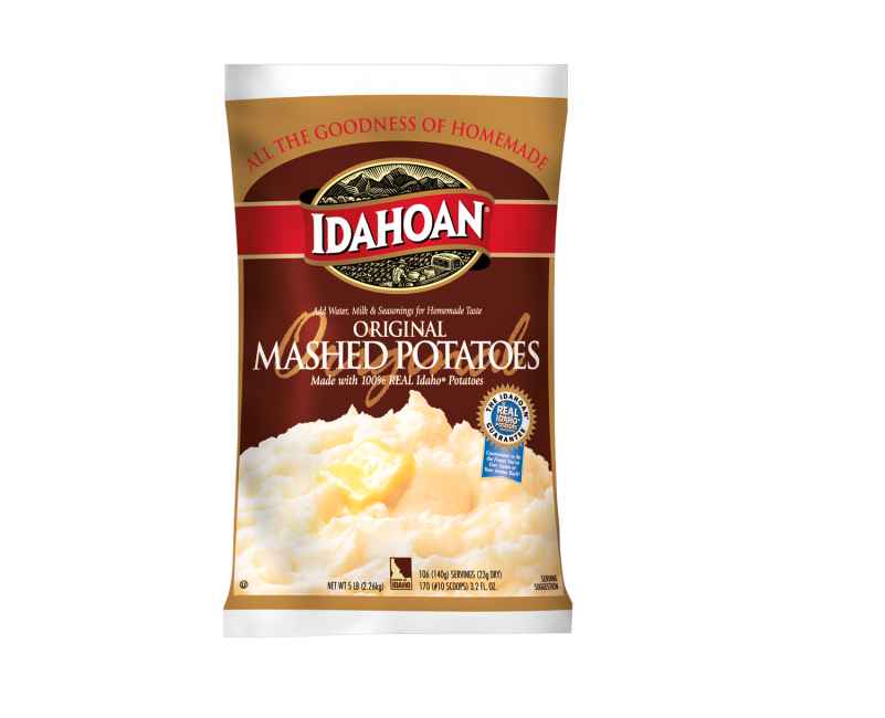 Idahoan Instant Mashed Potatoes 5lbs