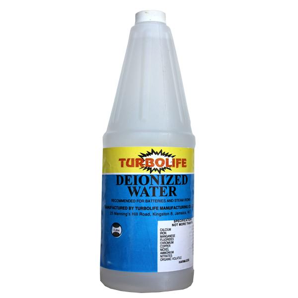 Turbolife Deionized Water 1 Litre