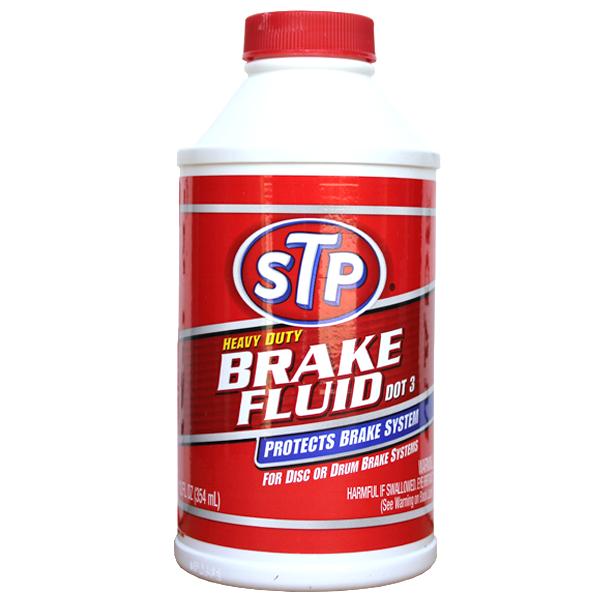 STP Dot 3 Brake Fluid  (354ml)