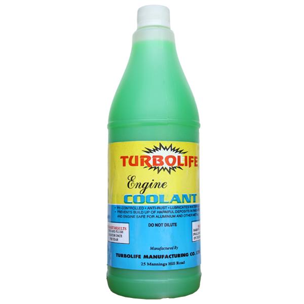 Turbolife Engine Coolant 1 Litre