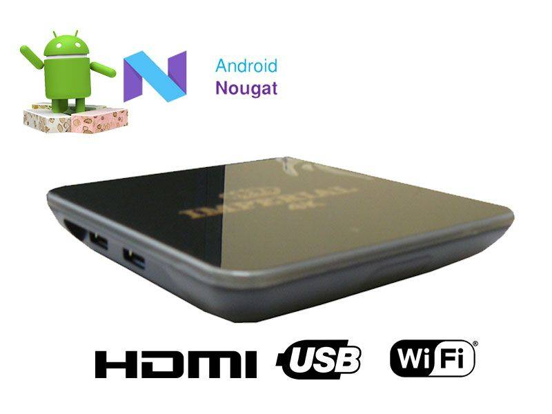 Imperial Android TV Box with 4K Ultra HD - 3G